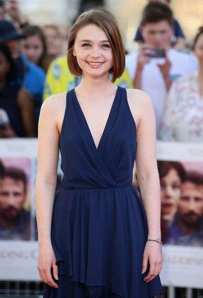 "Jessica Barden Photos Photos - Jessica Barden attends the World Premiere of ""Far From The Madding Crowd"" at BFI Southbank on April 15, 2015 in London, England. - 'Far From The Madding Crowd' World Premiere - Red Carpet Arrivals"