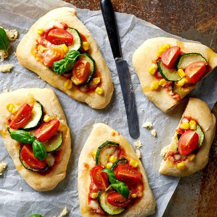 Wegetariańska naan pizza
