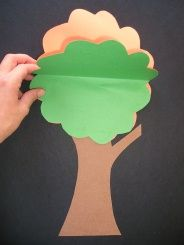 This Changing Tree craft is a fun way to celebrate the fall season, flip the paper over and watch the tree change colors!