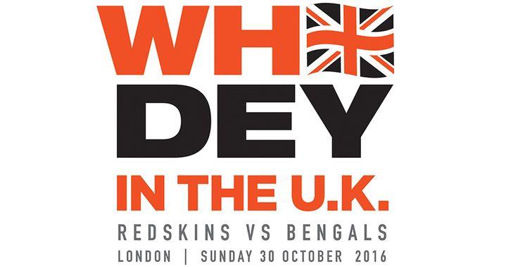 Cincinnati Bengals Tickets | Bengals UK - London