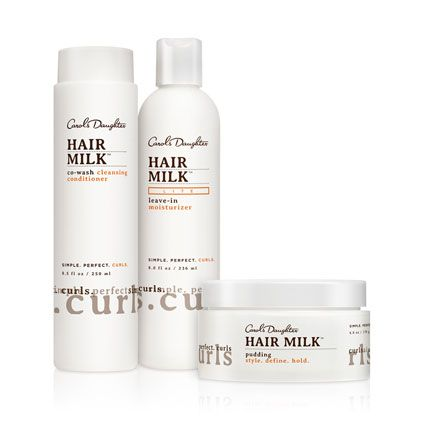 Natural Hair Care, Natural Beauty Products, Natural Skincare - Carol's Daughter - Hair Milk Light Moisture Curl Set