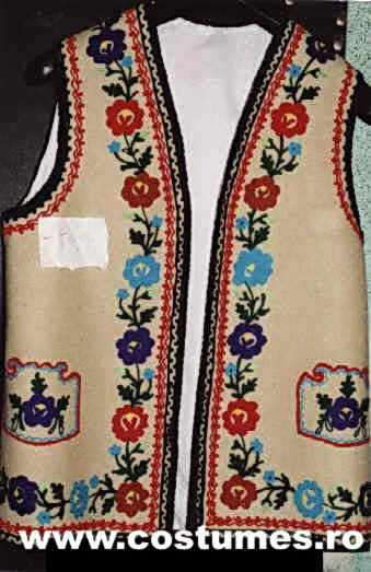 Traditional Folk Vests from Romania