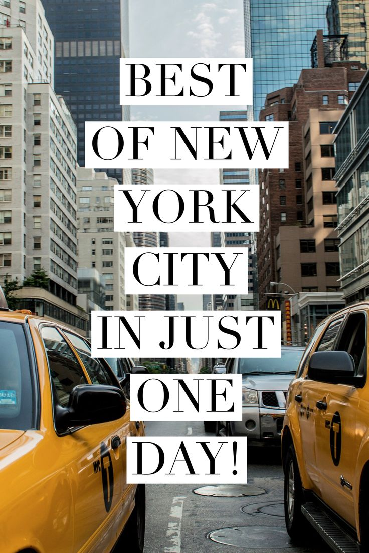 Great ideas for seeing NYC in just one day! NYC itinerary | NYC double decker bus tour | One World Observatory | 9/11 Memorial | Rockefeller Center | NYC Harbour Cruise