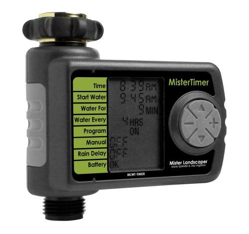 Mister Landscaper MwltTimer Mister Drip Irrigation Timer ** Details can be found by clicking on the image.