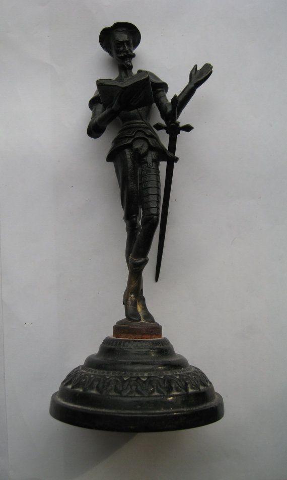 Винтажная металлическая статуэтка Дон Кихот. Высота от VIRTTARHAR