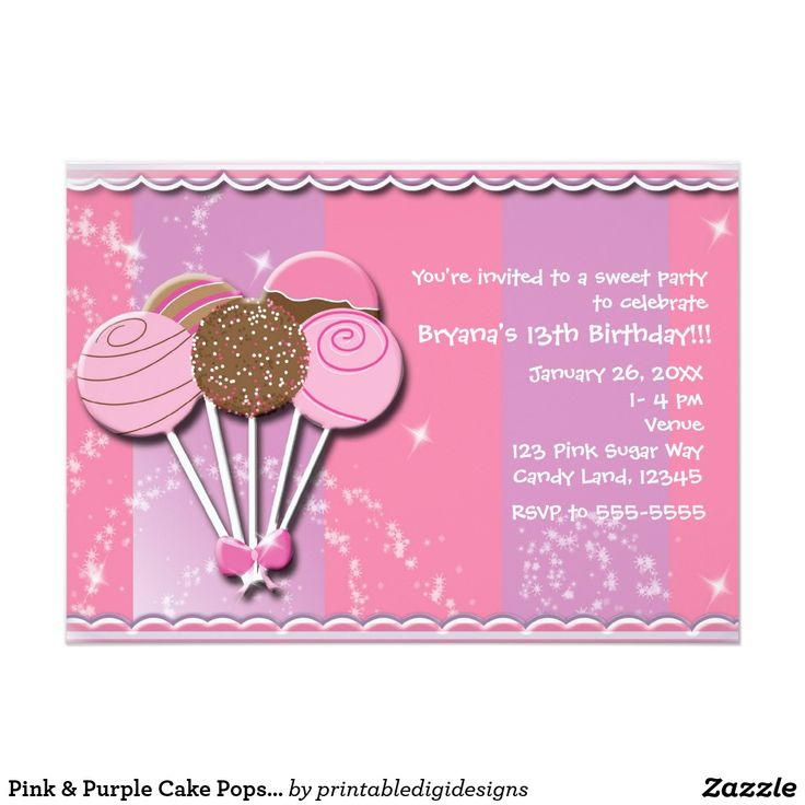 394 best Teens 1317 Birthday Invitations images – Invitations for 13th Birthday Party