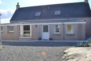 Tobar na Mathár self-catering holiday accommodation, Carloway, Isle of Lewis, Outer Hebrides (Western Isles) 2017