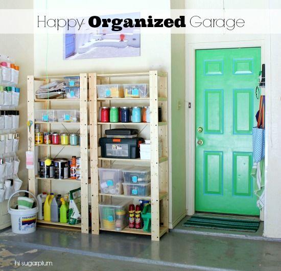 tips for garage organizing,