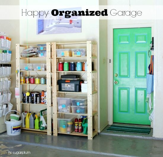 tips for garage organizing,
