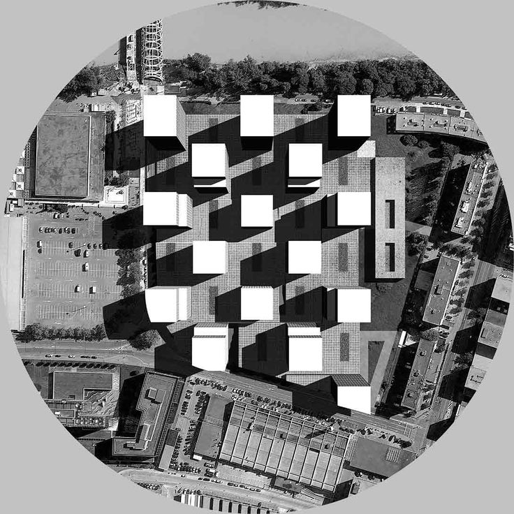 Dogma: Serlio. Proposal for 1500 residential units at Vernets, Genève, 2013