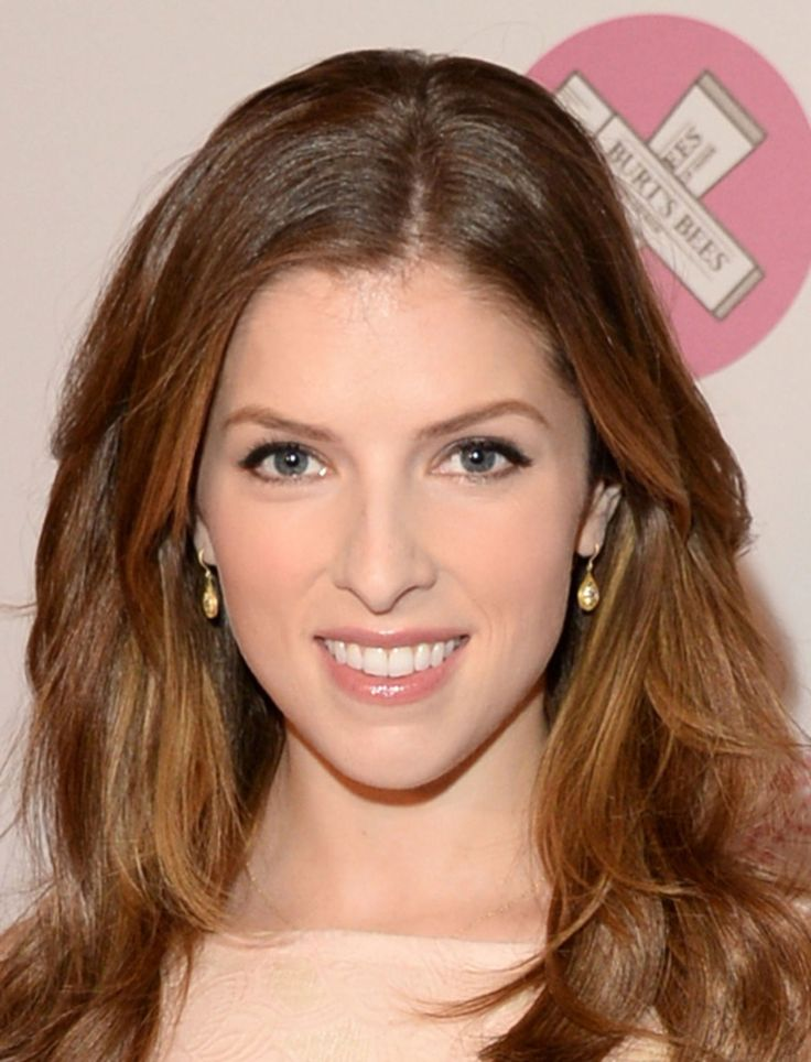 Pleasant Anna Kendrick Is Wearing A Gorgeous 7 Lip Gloss Here Makeup Hairstyles For Men Maxibearus