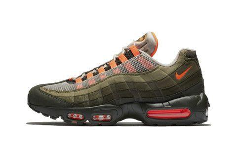 hot sale online 1c52e 074a1 Nike Air Max 95 OG Receives Militaristic Makeover