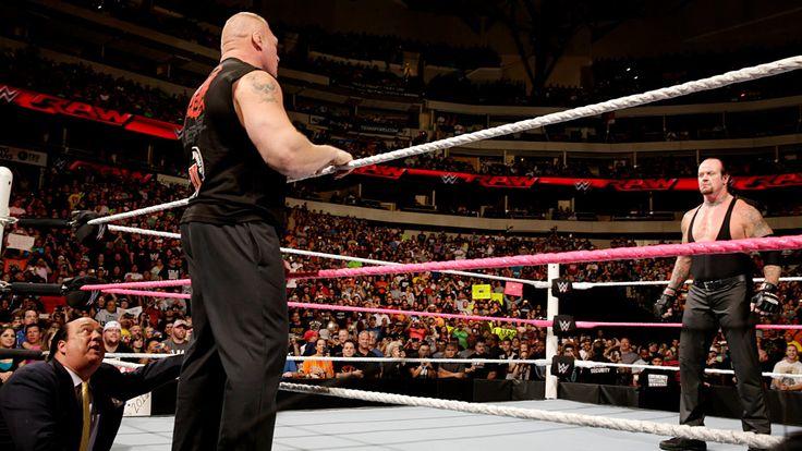 Resultados de WWE Raw, Oct. 19, 2015: Lesnar confronta a The Undertaker y Rollins, Ambrose & Reigns se unen ante La Familia Wyatt | WWE.com
