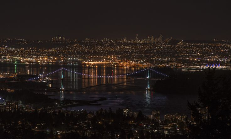 It always amazes me how easy it is to find stuff that I haven't seen before in this area.  A small drive up towards Cypress delivered this view of Lions Gate Bridge.  The full post is at http://www.onelifeonewhistler.com/march-already/