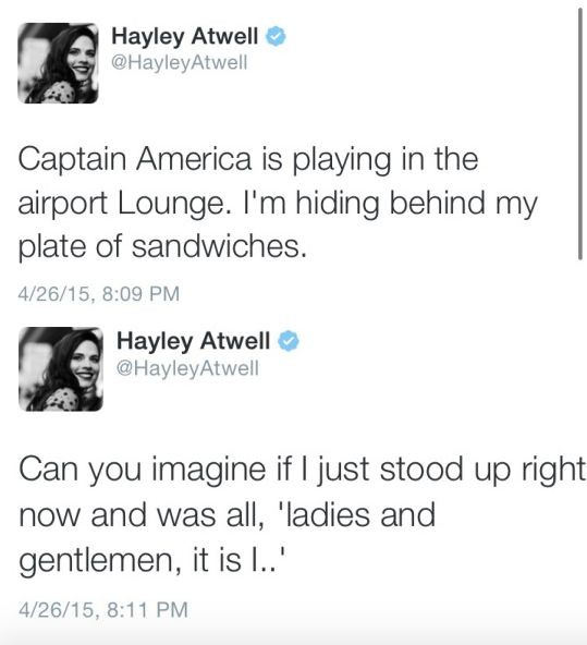 Hayley Atwell is amazing.