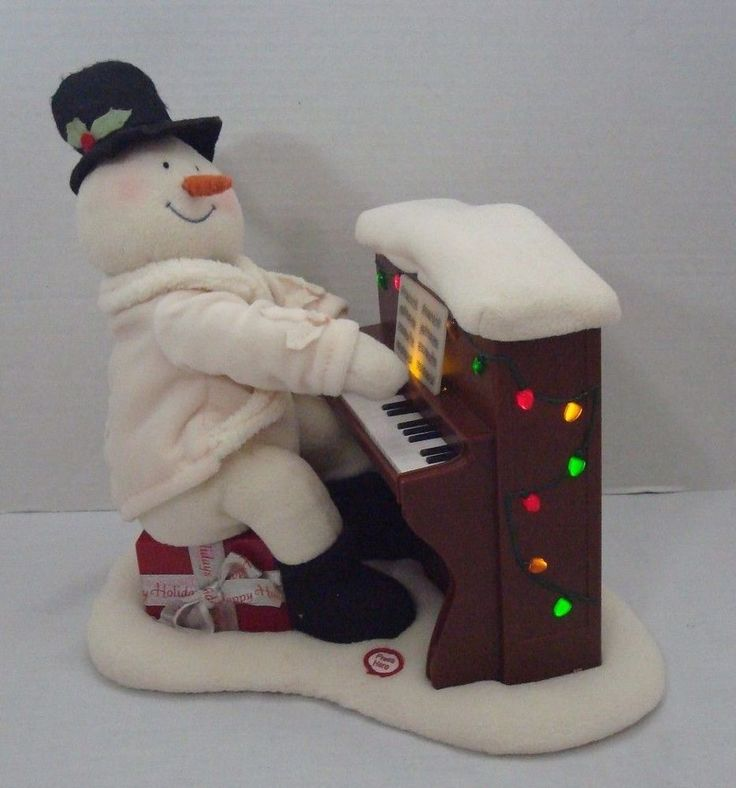 если пианино со снеговиком картинка когда полиции