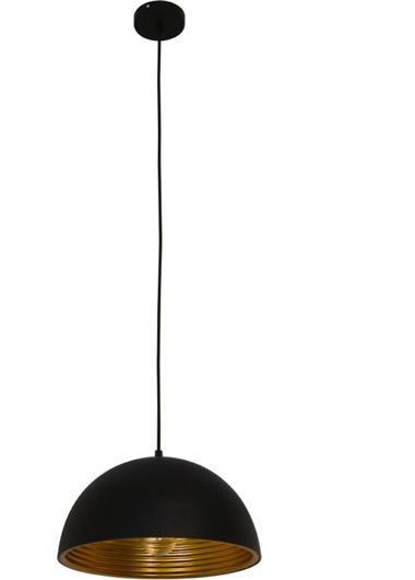 Cosmo 400 Pendant - Black/Gold, Pendants, Contemporary, New Zealand's Leading Online Lighting Store