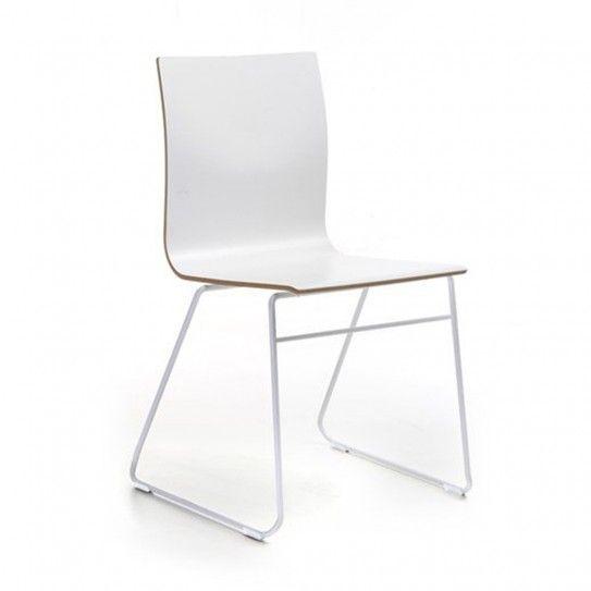 Besucherstühle | Stapelstühle - Stapelstuhl Place Kufengestell - (Bild 1 von 6)