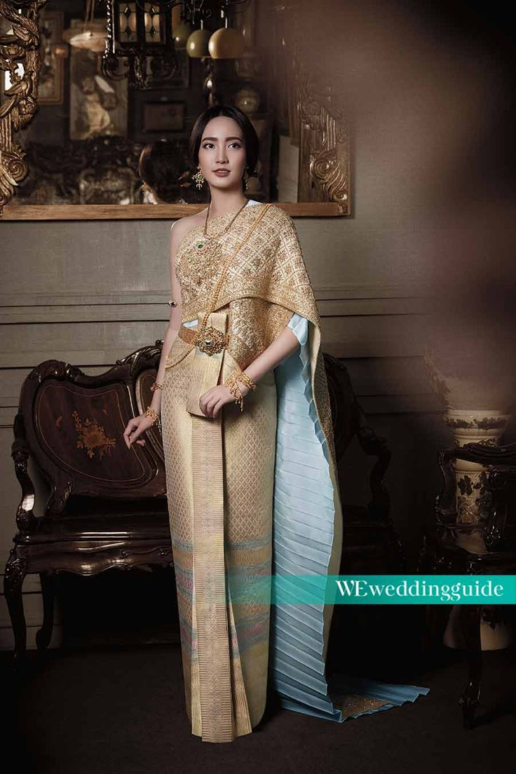 262 best thai wedding dress images on pinterest for Thai style wedding dress