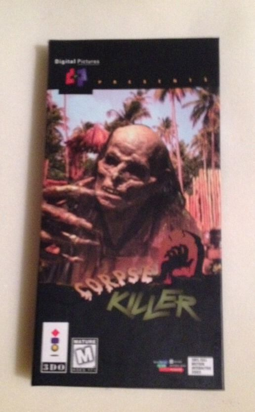 Corpse Killer  (3DO, 1994) Complete In Long Box