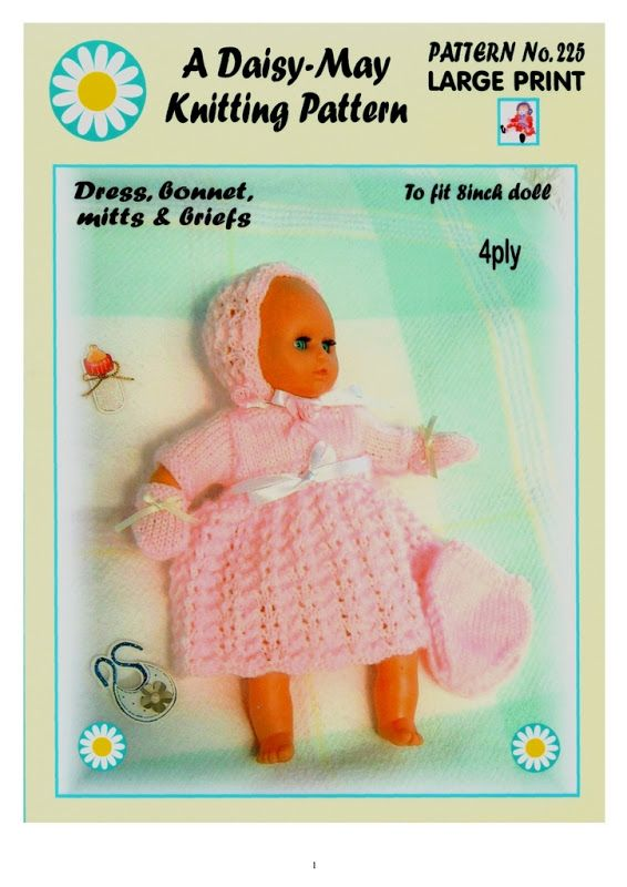 How To Knitting Patterns For Beginners : 58 best images about DOLLS - ITTY BITTY BABY on Pinterest