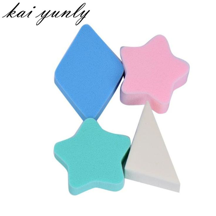 4PCS Makeup Sponge Blender Blending Powder Smooth Puff Flawless Beauty Make Up Beauty Tools Sep 1