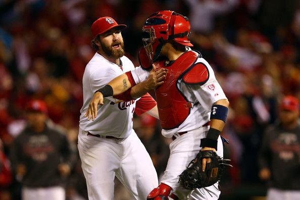 Yadier Molina Jason Motte Photos: NLCS - San Francisco Giants v St Louis Cardinals - Game Three