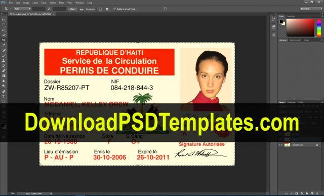 Fake Id Card Maker Online Driver License Psd Templates Download Psd Templates Driving License Psd Templates Templates