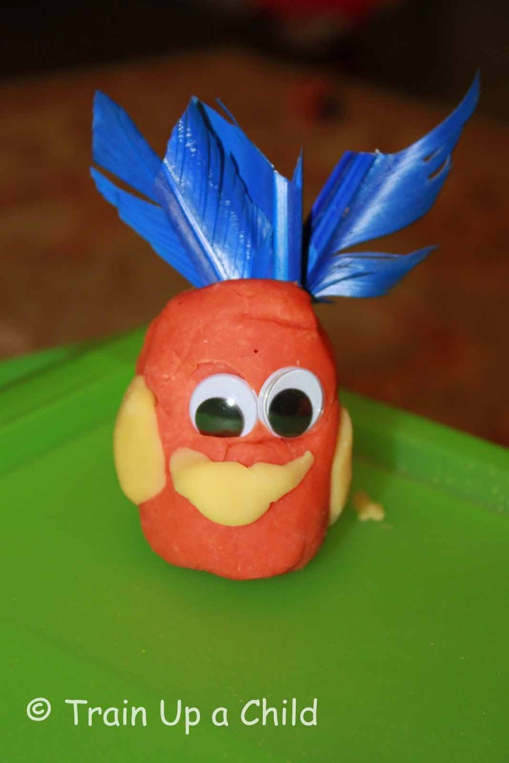 There's a Wocket in My Pocket! - Creating playdough creatures after reading the cherished Dr. Seuss book.