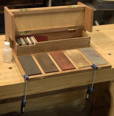 Custom Made Woodworker's Portable Sharpening Station