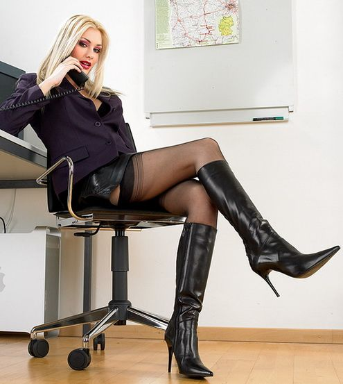 Speaking, recommend women in boots and black pantyhose