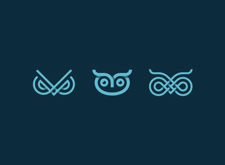 Owls logo design made by @kakhadzen…                              …