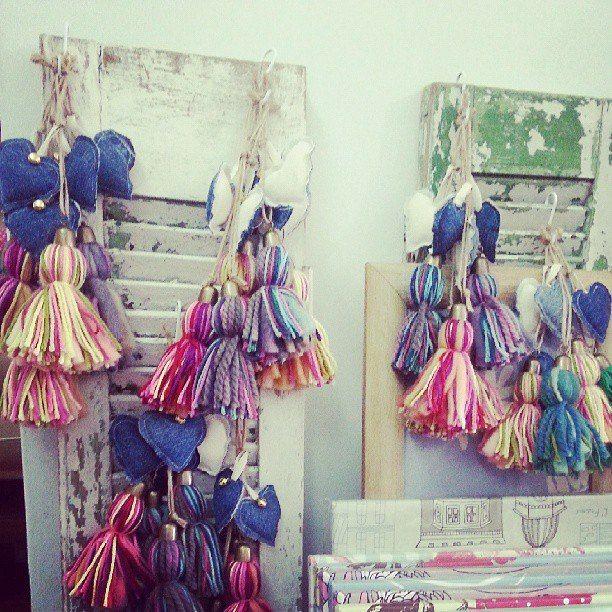 Borlas de lana coloridas!!! New / New #Alegria