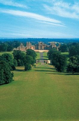 Blenheim Palace, Woodstock, England-- Sir Winston Churchills birthplace