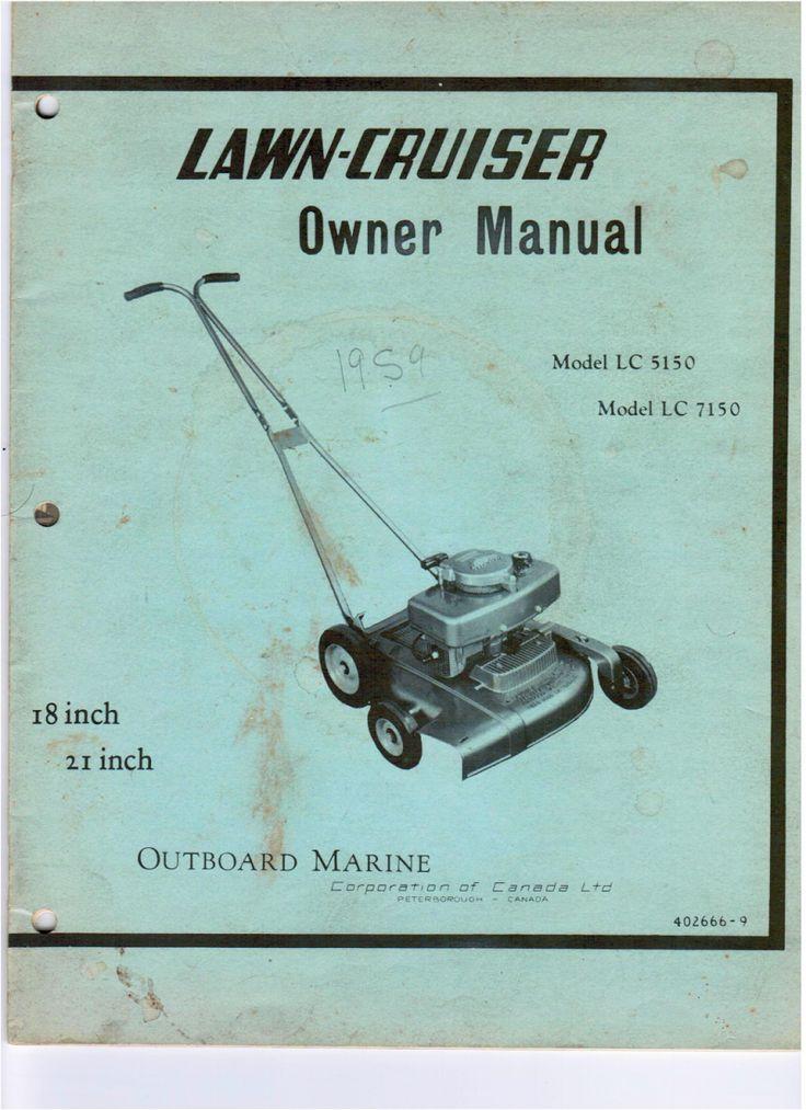RPM Lawn Boy Iron Horse Mower eBay