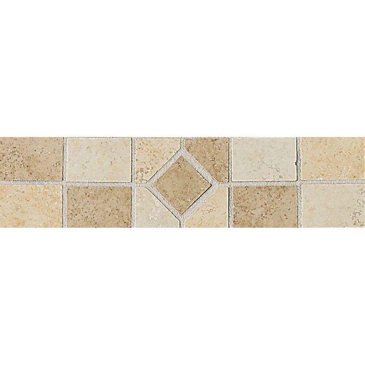 Floor Accents: Daltile Brixton Universal 3 In. X 12 In. Ceramic