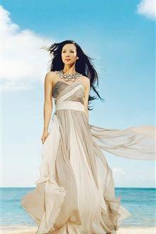 中国の女の子章子怡(チャン・ツィイー) 02 iPhoneの壁紙プレビュー