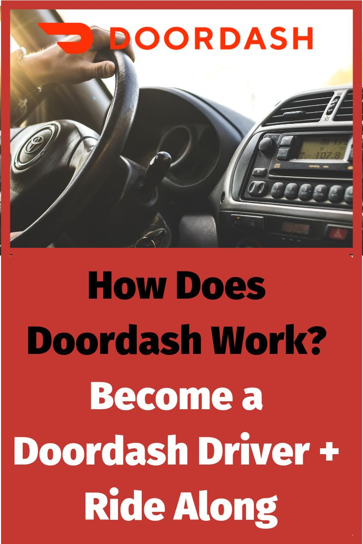 Learn how doordash works by coming along with me for