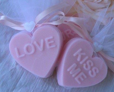Jabones para San Valentín