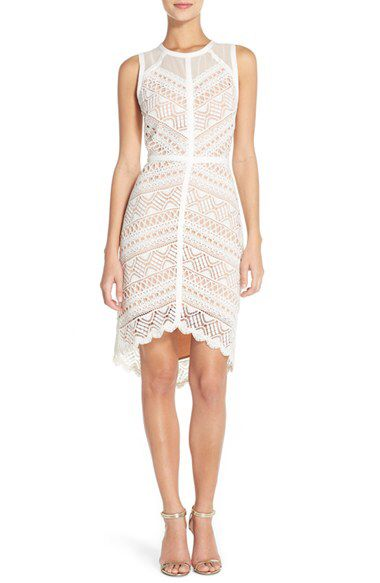 Adelyn Rae Adelyn Rae Lace High/Low Sheath Dress available ...