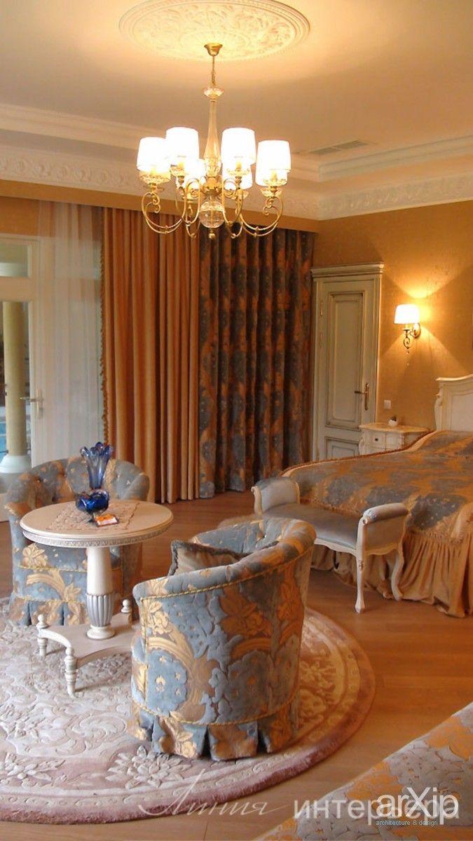 Спальня в классическом стиле: интерьер, квартира, дом, спальня, 30 - 50 м2 #interiordesign #apartment #house #bedroom #dormitory #bedchamber #dorm #roost #30_50m2 arXip.com