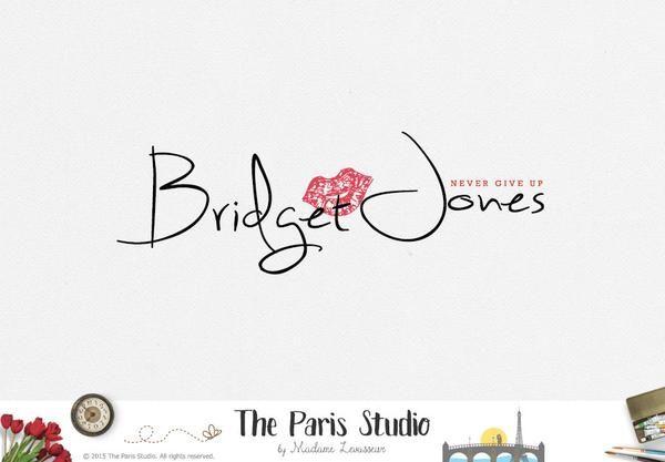 Typographic Hand Writing Logo Design for e-commerce website logo, wordpress blog logo, boutique logo, photography branding, wedding logo, website branding design.