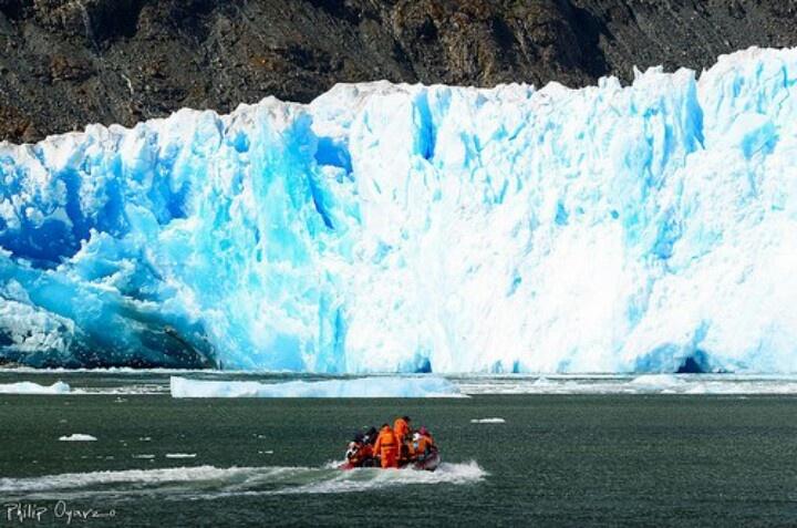Laguna San Rafael .Patagonia. Chile