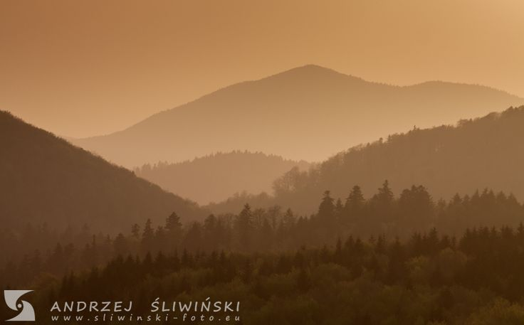 The Beskidy Mountains, Poland.  #landscapephotography #mountainphotography