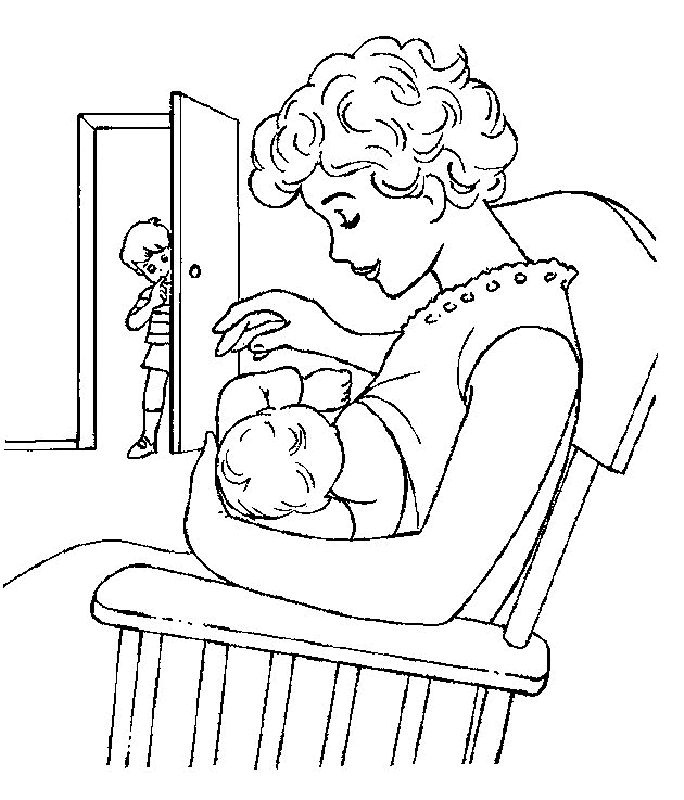 Baby Coloring Pages 6 Free Printable Coloring Pages
