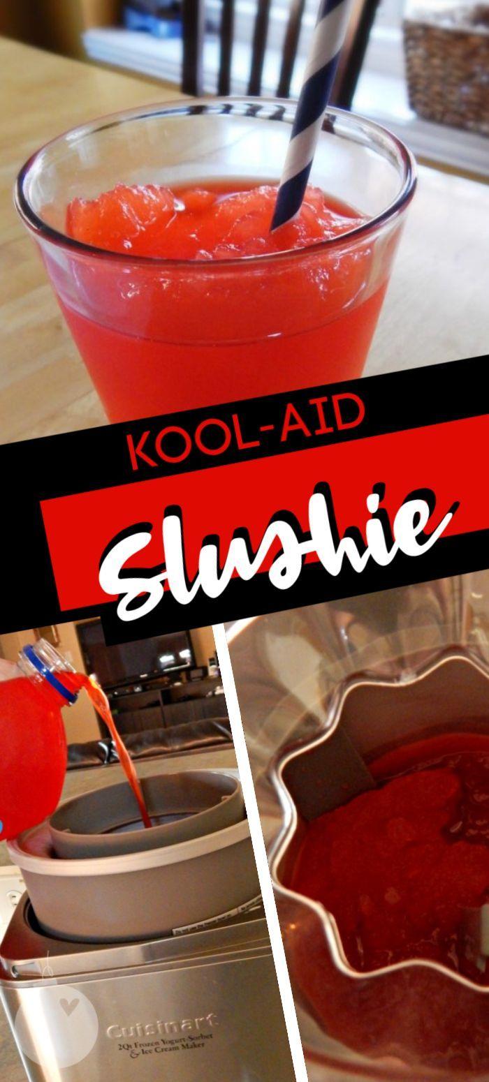 Kool Aid Juice Drink Slushes Are Super Delicious Yummy Drinks Slush Recipes Kool Aid
