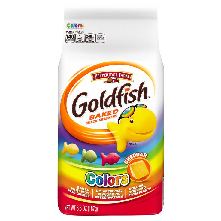 Pepperidge Farm Goldfish Colors Cheddar Baked Snack Crackers - 6.6oz