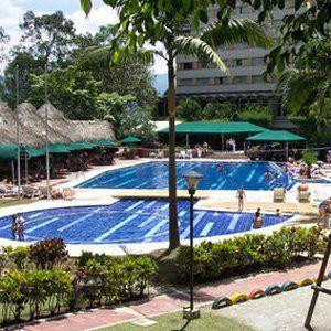 intercontinental hotel medellin, heerlijk hotel tijdens ons verblijf in Colombia
