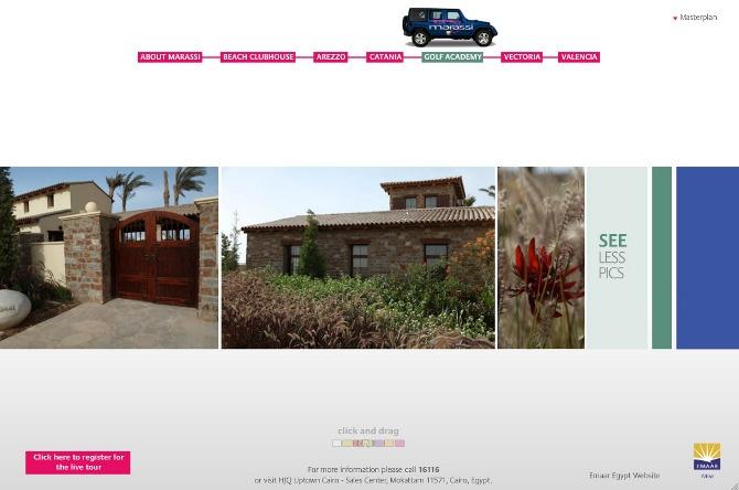 MARASSI SUMMER TOUR WEBSITE / Creative Direction, Art Direction, Web Design