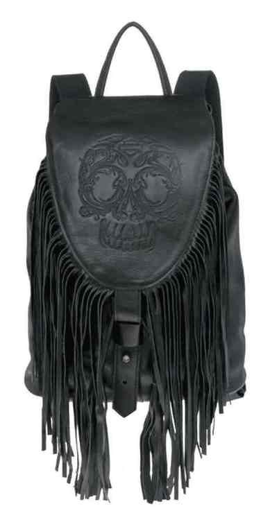 Free shipping - Harley-Davidson Women's Gypsy Sugar Skull Traveler Backpack, HDWBA10979-BLK - For the Home/Bags & Luggage/Backpacks & Slings -